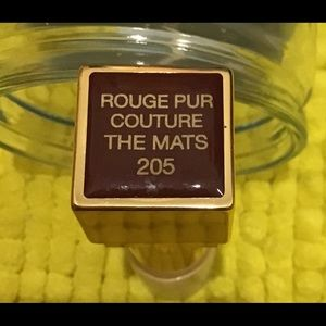 Ysl Rouge PUR couture THE MATS No. 205 TESTER